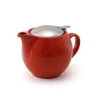 Zero Teapot 450ml Tomato