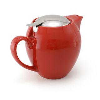 Zero Teapot 580ml Tomato