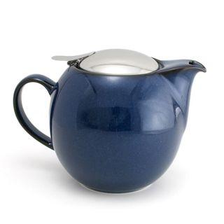 Zero Teapot 680ml Jeans Blue
