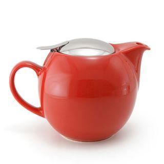 Zero Teapot 680ml Tomato