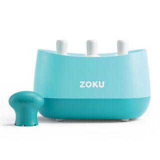 Zoku Triple Quick Pop Maker Lt Blue