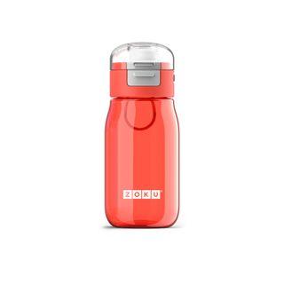 Zoku Kids Flip Gulp Bottle 465ml Red