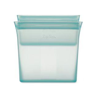Zip Top Bag 2 Pce Set Snack/Sandwich Teal