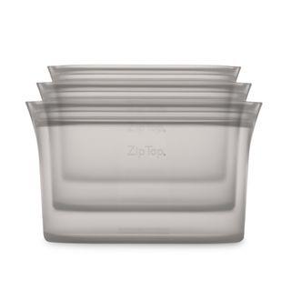 Zip Top Dish 3 Pce Set S/M/L Grey