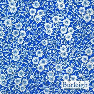 IHR Luncheon Burleigh Calico Blue