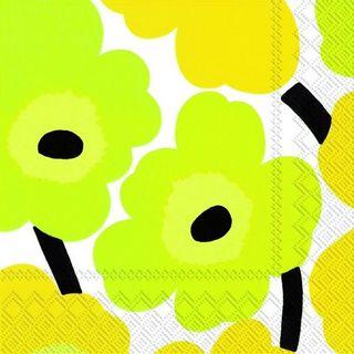 IHR Luncheon Marimekko Unikko Yellow