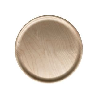 Atiya Round Wooden Tray Birch 35cm