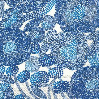 IHR Luncheon Marimekko Mynsteri Cream Blue