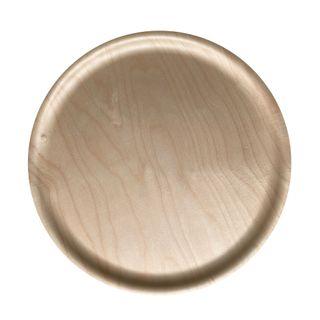 Atiya Round Wooden Tray Birch 45cm