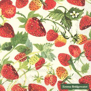 IHR Luncheon Strawberries Cream Emma Bridgewater
