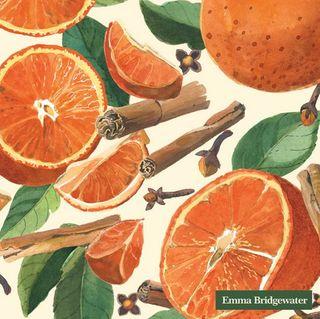 IHR Luncheon Spiced Oranges Cream Emma Bridgewater