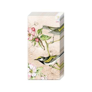IHR Tissue Bird Symphony Cream