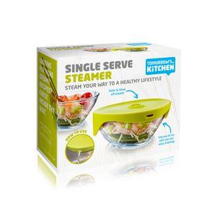 Tomorrow's Kitchen Single Serve Steamer Green