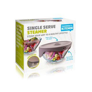 Tomorrow's Kitchen Single Serve Steamer Grey