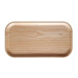 Atiya Rectangle Wooden Tray Ash 43x22cm