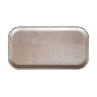 Atiya Rectangle Wooden Tray Birch 43x22cm