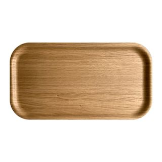 Atiya Rectangle Wooden Tray Oak 43x22cm
