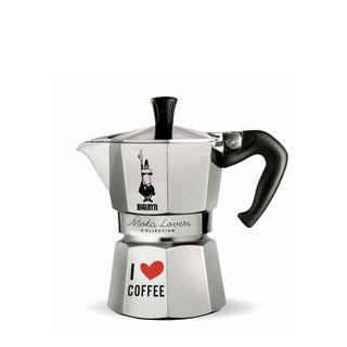 Bialetti Moka Express 3 Cup I Love Coffee