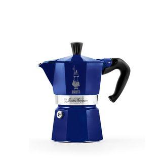 Bialetti Moka Express 3 Cup Blue