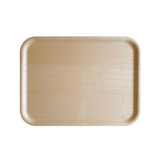 Atiya Rectangle Wooden Tray Ash 43x33cm