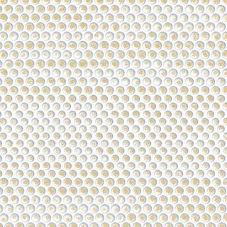 IHR Luncheon Artdeco Dots White Gold (embossed)