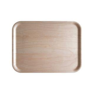 Atiya Rectangle Wooden Tray Birch 43x33cm