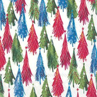 IHR Luncheon Colourful Christmas Tree