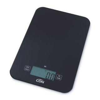 CDN NSF Digital Glass Scale 7kg Black