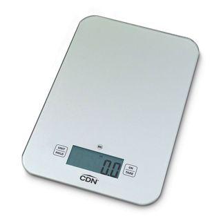 CDN NSF Digital Glass Scale 7kg Silver