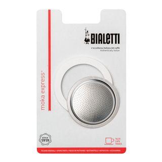 Bialetti Ring/Filter Blister Aluminium 9 Cup