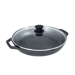 Lodge Chef Collection Pan with Glass Lid 30cm