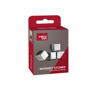 Vacu Vin Whiskey Stones Stainless Steel Set of 4
