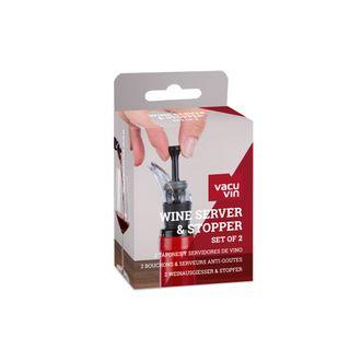 Vacu Vin Wine Serve/Stopper 2 Piece for 06804606