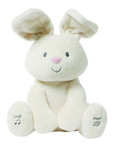 Baby Gund Sing & Play Flora The Bunny