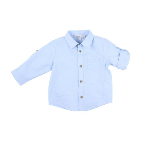 Bebe Baby Boys Louis Textured L/S Shirt