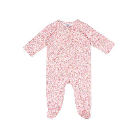 Bebe Floral LS Romper