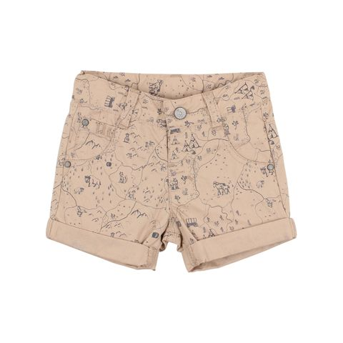 Baby Boys Fox N Finch Go West Map Short