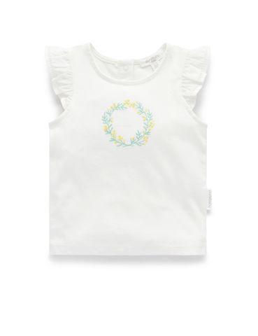 Baby Girls Purebaby Mimosa Tee