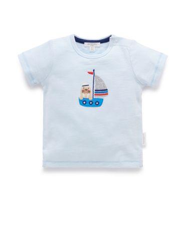 Baby Boys Purebaby Sailor Tee
