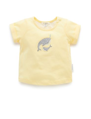 Purebaby Whale Lullaby Tee