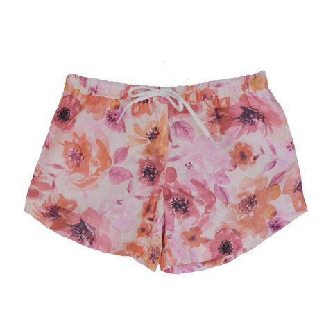 Dukes & Duchesses Baby Girls Goldie Curved Shorts