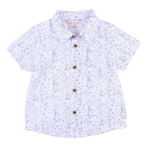 Fox N Finch Baby Boys Seven Seas Shirt