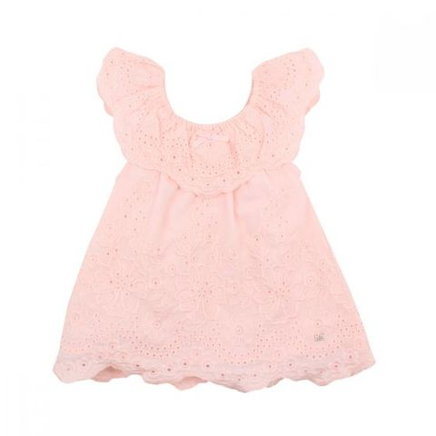 Fox N Finch Baby Girls Frolic Broderie Anglaise Dress