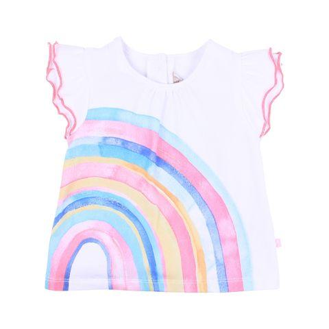 Fox N Finch Baby Girls Playground Rainbow Tee