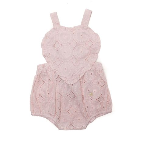 Alex & Ant Baby Girls Amore Playsuit Pink