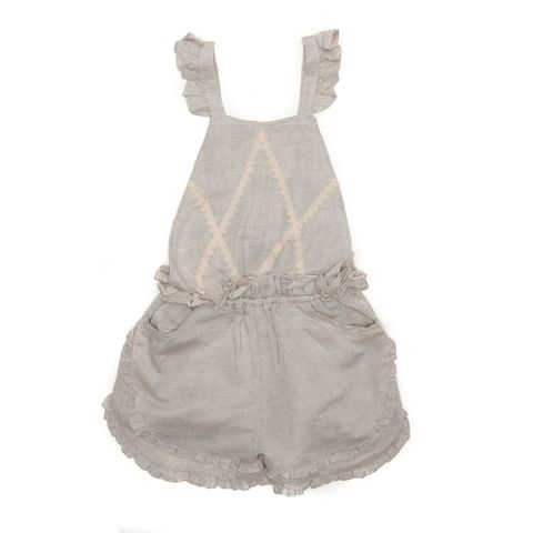 Alex & Ant Girls Evelyn Jumpsuit Natural