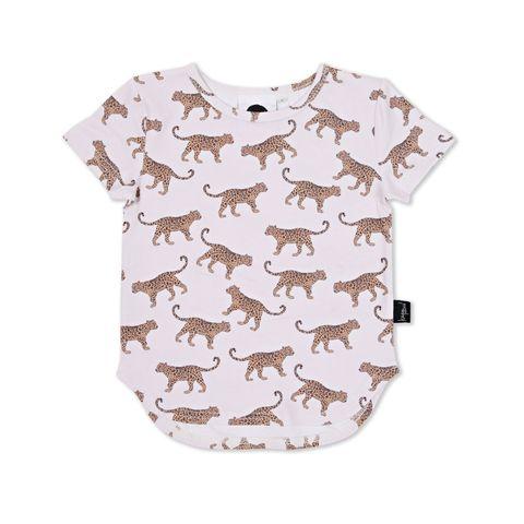 Kapow Kids Baby Boys Leopard T Shirt