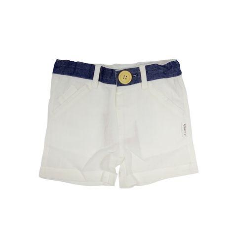 Love Henry Baby Boys Oscar Shorts White