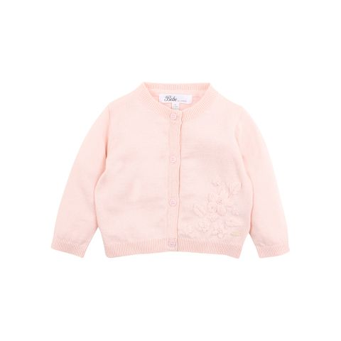 Bebe Penny Embroidered Cardigan