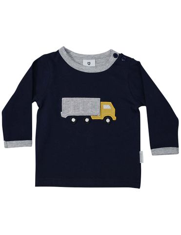 Korango Truck Yeah Long Sleeve Top Navy